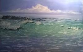 vague mer plage