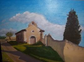 Chapelle du village d'Estrevennes