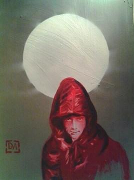 Peinture pleine lune