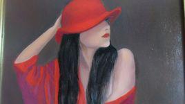 ma fille et son chapeau rouge