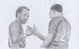 Neymar.Jr & Mbappé