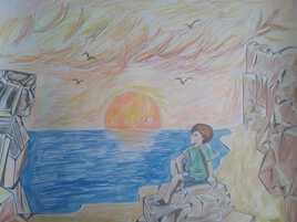 Jour de plage, souvenirs et rêveries