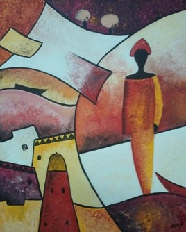 Afrique abstrait