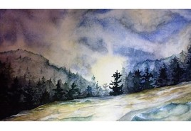 paysage aquarelle#2