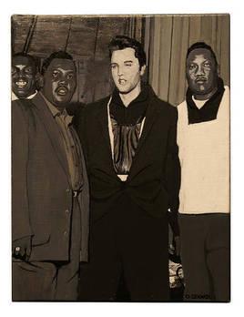 LITTLE JUNIOR PARKER, ELVIS PRESLEY & BOBBY BLAND 5 Décembre 1956