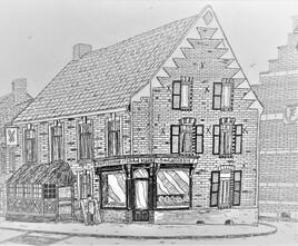 La boulangerie de Bollezeele (Nord)
