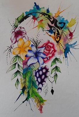 Attrape reve floral