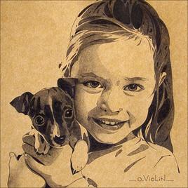 Portrait d'enfant n°4