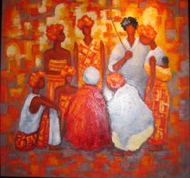 Biles nicole artiste for Peintures couleurs chaudes