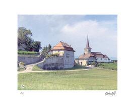 Le château de Font/FR Suisse