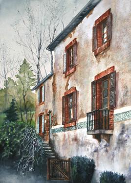 Une maison de Saint Céneri  [ Orne ]
