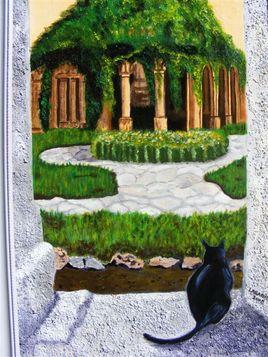 jardin abbaye Valmagne