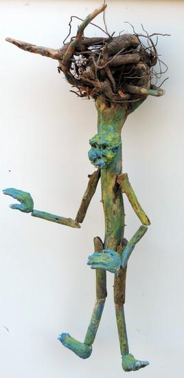 """""""racine"""" marionnette à fils"""