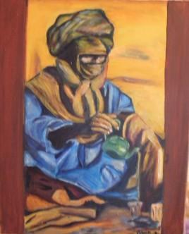 L'homme du désert