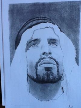 Peinture Arabie