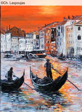 Fin de journée à Venise