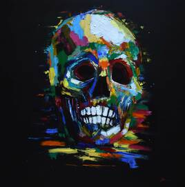 Color skull II