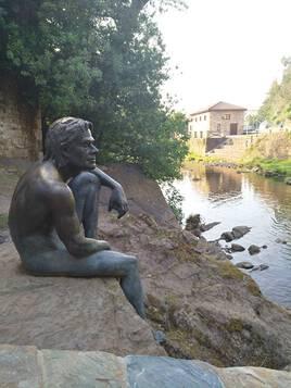 El hombre pez (l'homme poisson) de Lierganes, Cantabrie (Espagne du Nord)