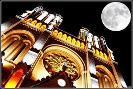 L église de la super lune