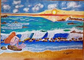 Née de l'écume et de la mer