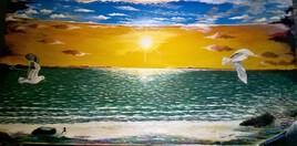 Le ciel le soleil et la mer