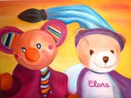 Les doudous de Clara
