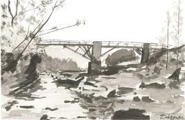 ancien pont de Langevin ile de la réunion