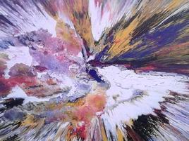 peinture abstraite composition 1c