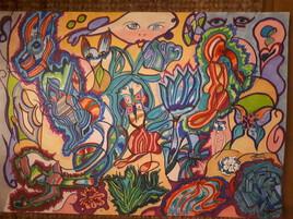 Art fleuri