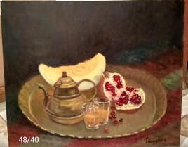 Les fruits et la théière