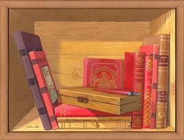 La bibliothèque au plumier