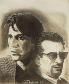 Al Pacino et  Robert de Niro