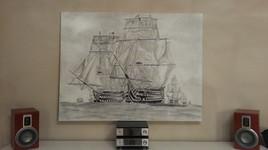 HMS Victory et HMS Neptune