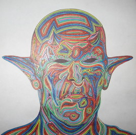 Face de monstre