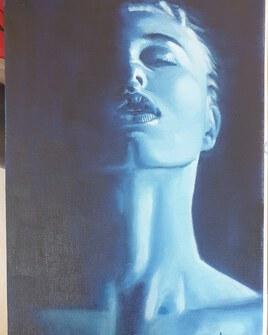 Femme / blue