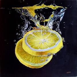 Plongée de citrons