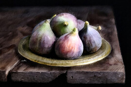 Nature morte aux figues