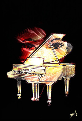 Autre La fille au piano