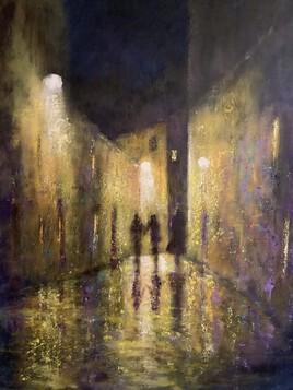 Nocturne dans la vieille ville
