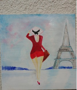 pin up  a Paris