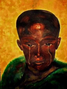 Onitcha l'enfant pleurant