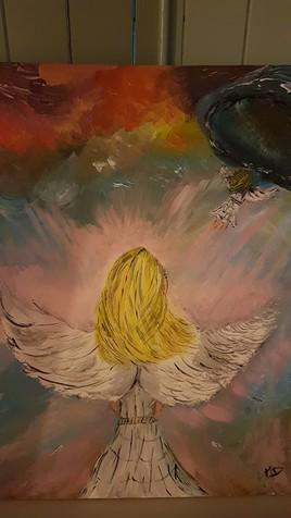 Départ de l ange