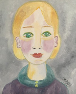 """Jeune femme-pastel"""