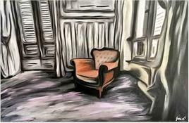 Le fauteuil de Lady Jo (série Urbex)