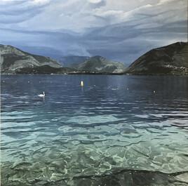 Le Lac Majeur avant la pluie