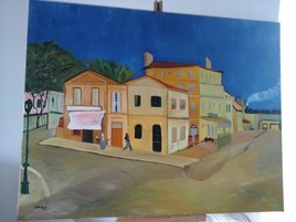 maison jaune d'Arles