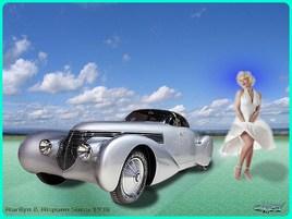 Marilyn & Hispano Suiza
