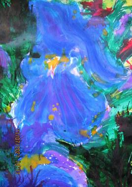 Drawning irises