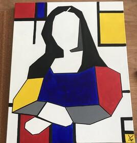 Mona Lisa après le confinement.