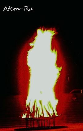 Photo La flamme humaine